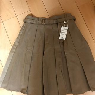 ベージュのスカート【新品✴︎タグ付き】