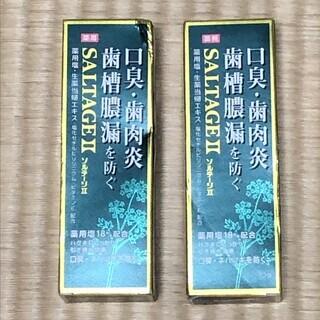 新品!歯磨き粉 サンスター 薬用ソルテージⅡ 2個
