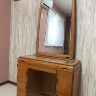 訳あり家具/鏡台/0円/自宅までとりにきてくださる方限定