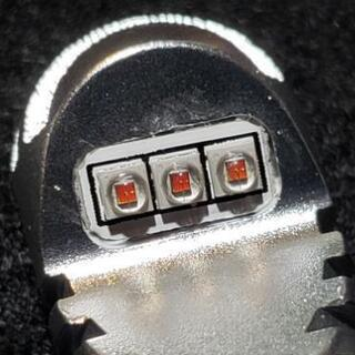 T20 7440 LED シングル アンバー オレンジ 爆光 無極性 2個セット - 車のパーツ