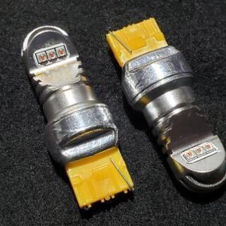 T20 7440 LED シングル アンバー オレンジ 爆光 無...