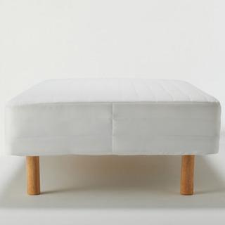 無印商品人気ナンバー1 脚付マットレス シングルベッド