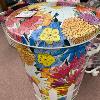 ◆可愛い花柄の大きなボックス