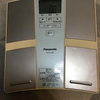Panasonic 体重計