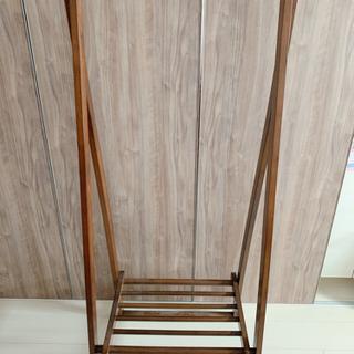 [取り引き中]木製 ハンガーラック