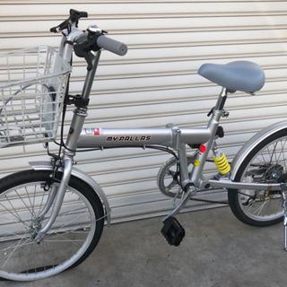 格安美品!MYPALLAS 折りたたみ自転車 16インチ シマノ...