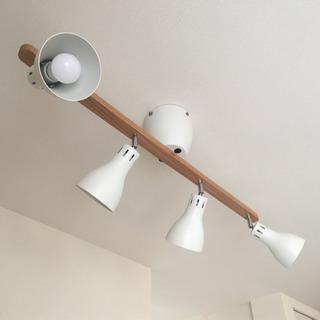 シーリングライト リモコン&LED電球4個付き