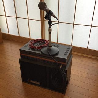 マイク 音響装置 アンプ
