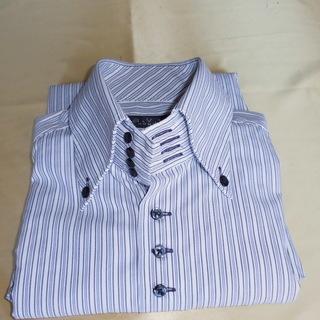 【美品】A・V・V HOMME 4ボタン 形態安定 ワイシャツ
