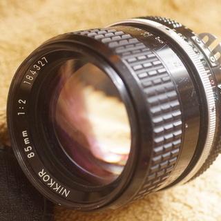 Ai Nikkor 85mmF2.0 フィルム レンズ