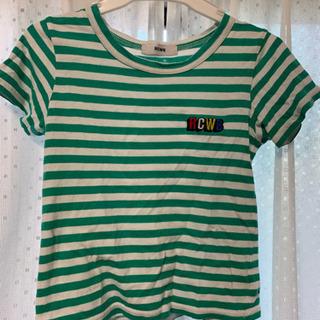 ロデオクラウンズワイドボウル ボーダー Tシャツ 105-115cm