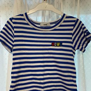 ロデオクラウンズワイドボウル Tシャツ ボーダー 105-115cm