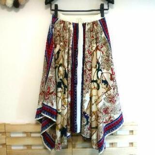 JEANASIS ジーナシス スカーフスカート