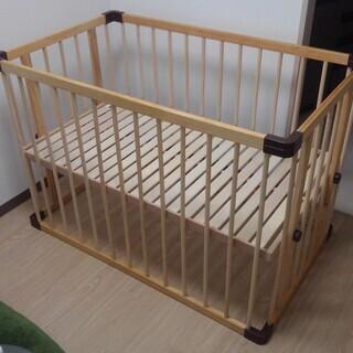 ファルスカ・ベビーベッドサイドベッド(ジョイント式)