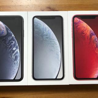 iPhone XR au 64g SIMロック解除済み 新品未使用