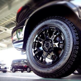 17インチ5穴 4本セットデイトナ RAYS FDX-F7 タイヤ付き