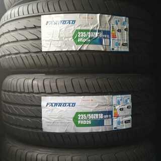 235/50ZR18/⭐格安!新品未使用のサマータイヤです(^^♪