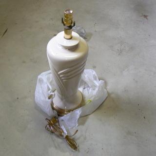 陶器ランプ2個