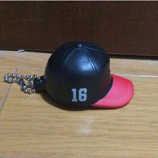 東浜巨 ホークス#16 キャップ型キーチェーン