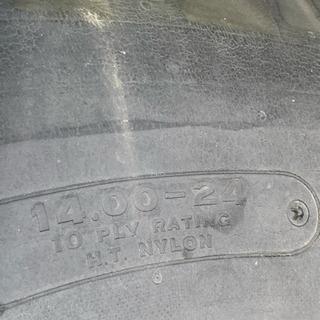 BS14.00-24 12PR スノータイヤ フルピン