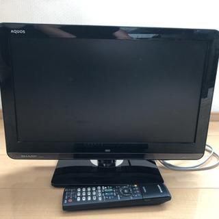 液晶カラーテレビ  19V  SHARP AQUOS