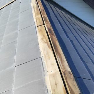☆台風15号☆雨樋、棟板金修理!迅速対応