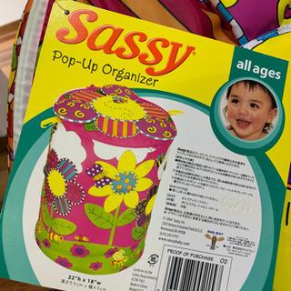 sassy  ポップアップ  おもちゃ箱