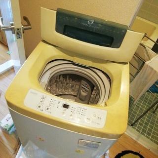 洗濯機4.2キロさしあげます  とりに来てくださる方へ