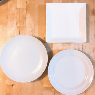 白いお皿 3種 6枚
