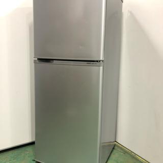 単身向け2ドア冷蔵庫 アクア 137L ♪ ひとり暮らしにオススメ