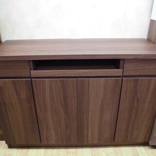 パソコンデスク キャビネット型 幅1185mm 西岡店