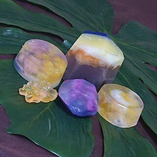 アロマ宝石石鹸作り体験❤️あなたに必要なアロマをブレンドして作ります🎵