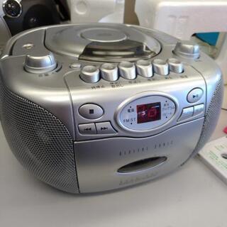 CDラジオカセットレコーダー 訳有