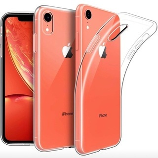 iPhone XR (6.1inch) 専用 クリアソフトケース...