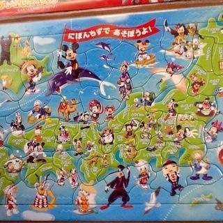 ディズニー 日本地図パズル