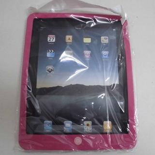iPad ソフトシリコンケース ピンク JM4836)【取…