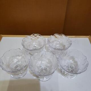 デザートグラス5組セット《中古品》