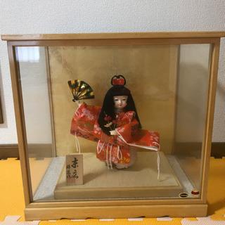 日本人形 末広 錦凰作 はしもと人形