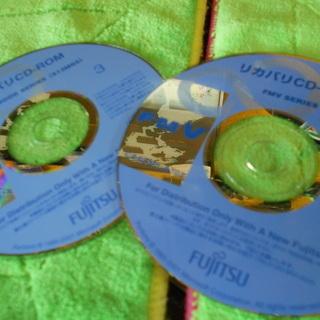 FujitsuノートPC用 リカバリーディスク