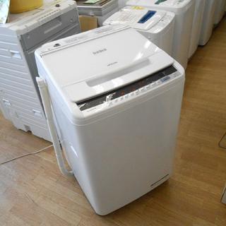 2018年製 美品 日立 8kg 洗濯機 ビートウォッシュ BW...