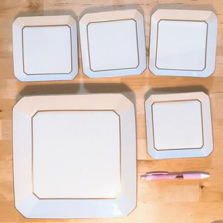 大皿、小皿のセット