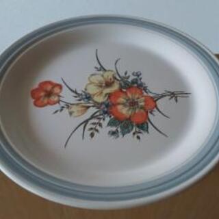 陶器の洋皿