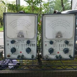【paypayフリマ取引売約済】ナショナル真空管電圧計2台の画像