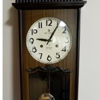 ゼンマイ式掛け時計
