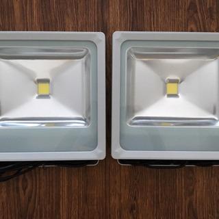 【新品】LED投光器 50W 薄型