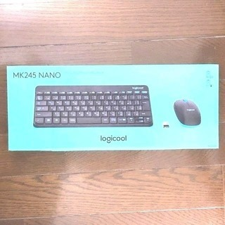 【箱潰れ 新品未開封品】Logicool MK245 NANO