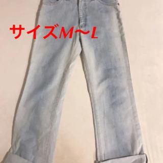 デニム ジーンズ  ストレートジーンズ サイズM〜L