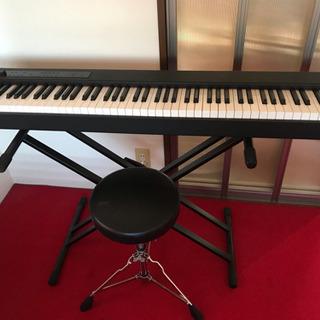 KORG 電子ピアノ D1 88鍵盤 ペダル・椅子・スタンド付き