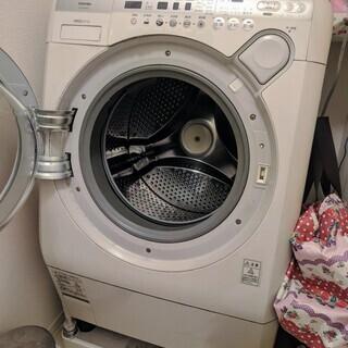 ドラム式洗濯機/送料代にて差し上げます。/手渡し不可。ただし送料...