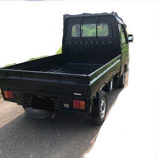 ハイゼットトラック 軽トラック 黒 全塗装 車検32